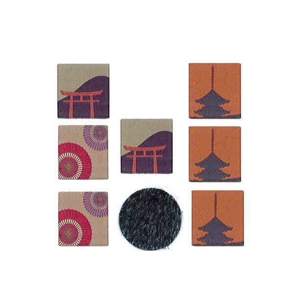 プリント 印香 古都の風情