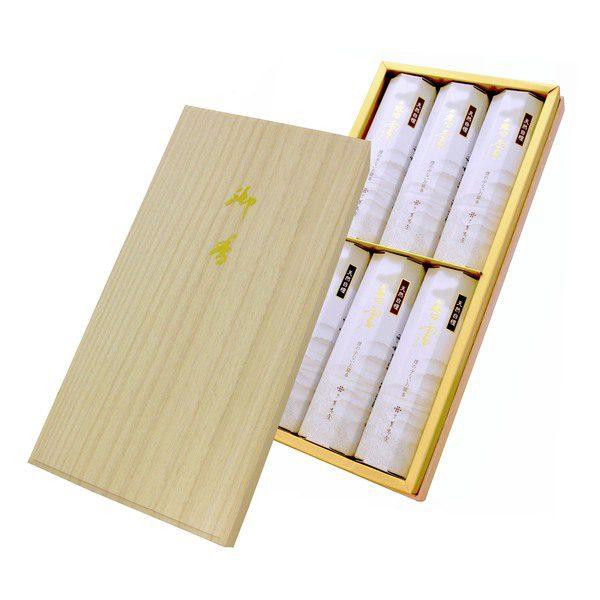 香雲 和装紙箱 短寸6入