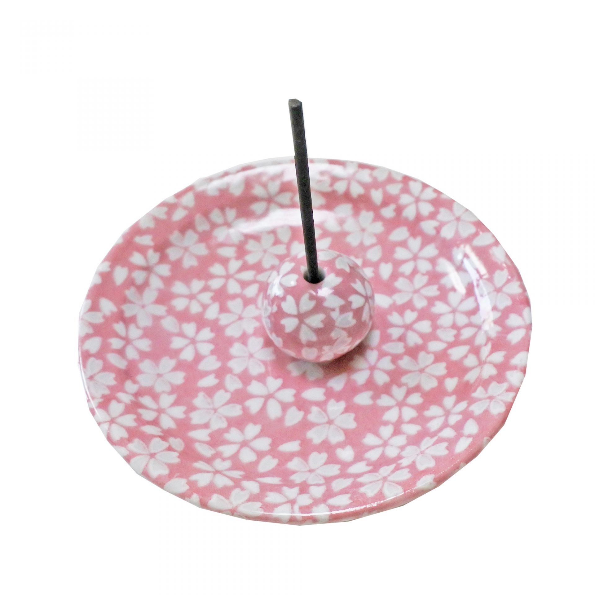 香立付香皿 花桜